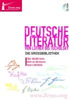 Cover DVD: Deutsche Literatur von Luther bis Tucholsky