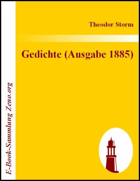 Gedichte Ausgabe 1885