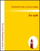 eBook-Download: Malwida Freiin v...