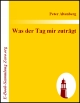 eBook-Download: Peter Altenbergs...